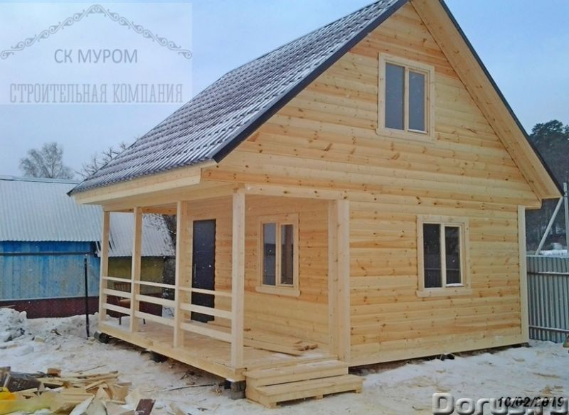 Баня для дачи - Строительные услуги - Каркасная баня с мансардой – это оптимальное решение жилищного..., фото 1